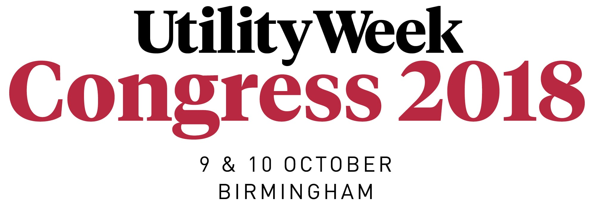 Utility week Congress - 2018 - Logo